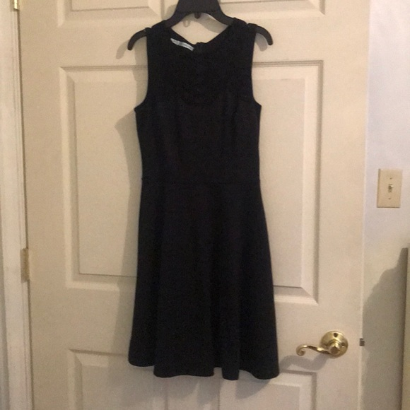 Maurices Dresses Black Dress With Mesh On The Front Poshmark